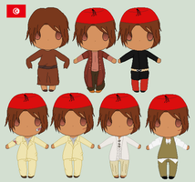 Hetalia- Tunisia's Wardrobe by Karma-Maple
