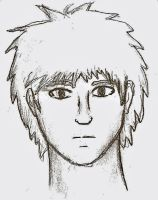 Anime face by Jhumperdink