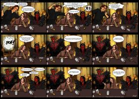 Skyrim comic strip - just a dremora? by Daelyth