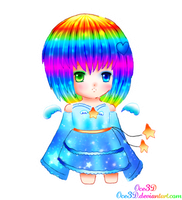 Rainbow - Chibi by Oce3D