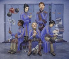 Ravenclaw Quidditch by cambium