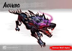 Demon Wolf Alpha by SpicyHorseOfficial