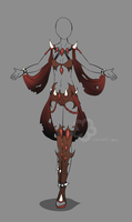 Evil Fantasy Design Adopt - sold by Nahemii-san