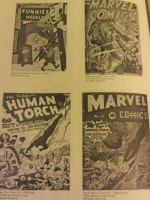 The legend of Original Marvel Comics by Rylverine