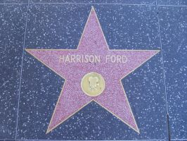 Harrison Ford's Star by girladrencodephoenix