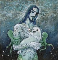 St. Merman of Orphaned Seals by barbarasobczynska