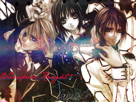 Vampire Knight wallpaper by xCaro-chan