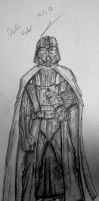 Darth Vader sketch 4.1.12 by itamar050