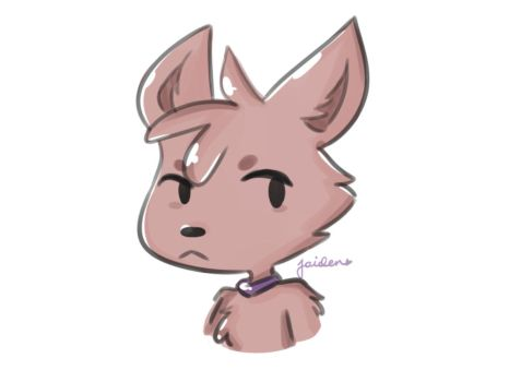 coyote/dog/idk whatever doodle i guess by JaidenAnimations