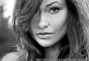 Olivia Wilde by DeadOceans