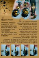Steampunk headphones by zeloco