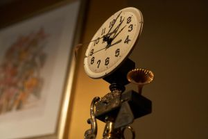 Steampunk Clock 2 by GraphiteIgnite
