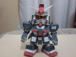 SD RX-78-1 ver Ka papercraft by daigospencer