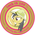 This is 100% Daring-Do Approved by Penguin-616