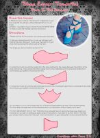 Shoe Cover Tutorial Part I by Xelhestiel