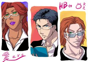 outlaws with glasses by riyancyy777