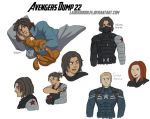 Avengers Dump 22 by LauraDoodles