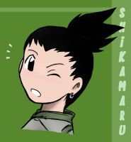 Shikamaru is COLOURED by cherlye