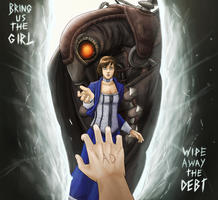 Bioshock Infinite by Arabesque91