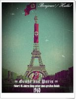A post card from Paris , 1960 (unfinished) by KevinAuzan