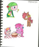 Cosmo Seedrian and some MLP by cmara