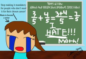 I HATE MATH by Colhan3000