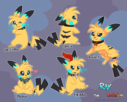 Ray Reference 2015 by RayFierying
