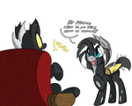 MLP: Changeling Costume by SrMario