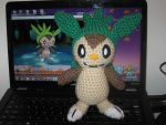 Chespin Plushie by Milayou