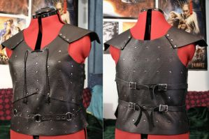 Black Soft-Leather Assassin's Armour by SerenFey