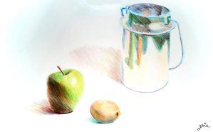 Colored Pencils assignment by YairMor