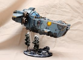 Stormfang gunship by mmc1uk