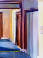 Hallway Color Abstraction by 0AngelicWings0