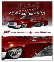 rail it customs toyota by SurfaceNick