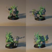 the Squig and the Grot by HobbyV