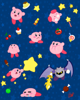 Kirbys! by TheAtomicPumpkin