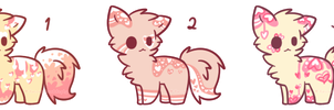 Kitty Batch #5 - [Auction!] - [Pending!] by KawaiiChuuAdopts