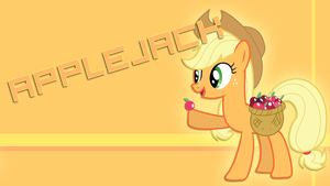 Applejack Poster by HaloTheDash