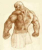 Sagat by Brolo