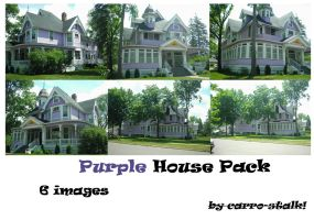 purple house pack by carro-stalk