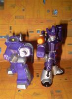 Shockwave and Galvatron by CyberDrone