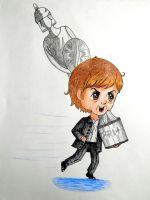 Little Paul Stealing His Brit Award by Elizabeth159