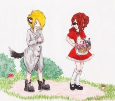 Little Red Riding Hood by apatia69
