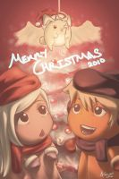 Red Christmas 2010 :3 by ioxygen
