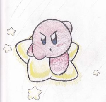 Kirby Air Ride Kirby by gonenannurs