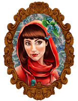 Little Red Riding Hood by okani