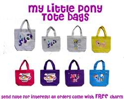 MLP_ToteBags by wanabiEPICdesigns
