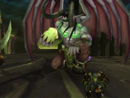 Illidan Stormrage Screenshot by zafara1222