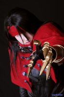 Vincent Valentine     pose 9 by RedDeath1888