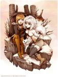 Hunters from the Snowy Woodland by Doria-Plume